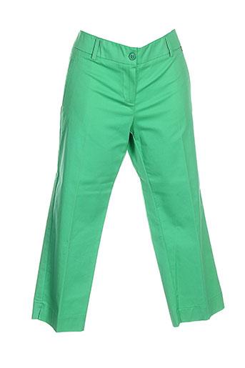 pois pantacourts femme de couleur vert