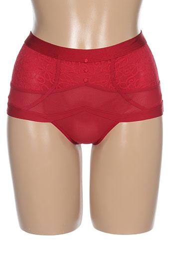 triumph shortys et boxers femme de couleur rouge