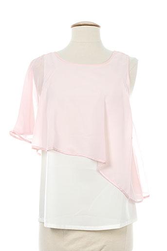 lavand chemises femme de couleur rose