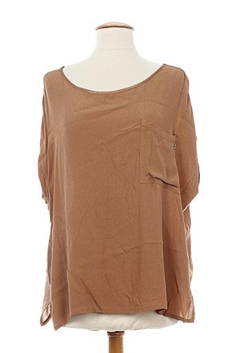 lolitas EFFI_CHAR_1 lolos chemises femme de couleur marron