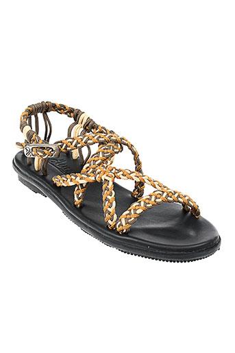 la marine chaussures femme de couleur beige