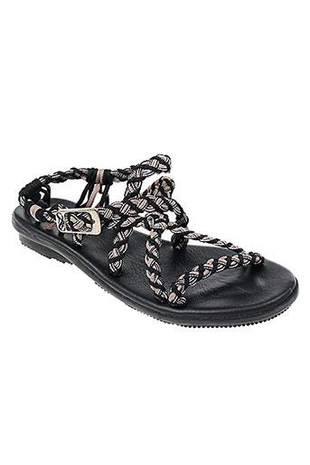 la marine chaussures femme de couleur noir