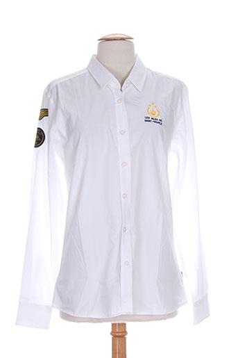 les ailes de saint-tropez chemises femme de couleur blanc
