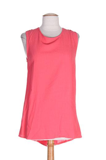 orféo paris chemises femme de couleur rose