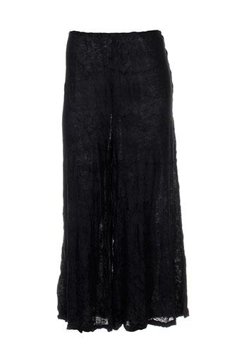 kokomarina pantacourts femme de couleur noir