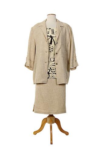 Veste/jupe beige CHARLES LORENS pour femme