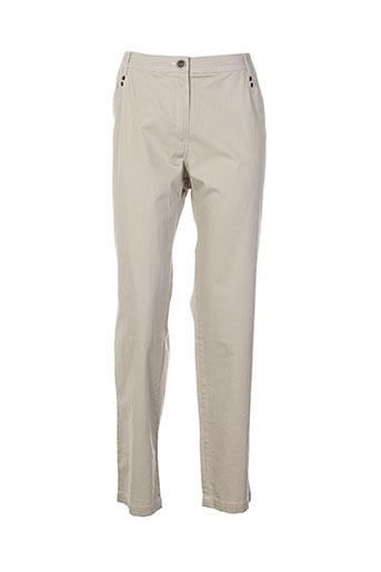 anne et kelly pantalons et decontractes femme de couleur gris