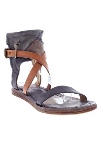 a et s et 98 sandales et nu et pieds femme de couleur noir