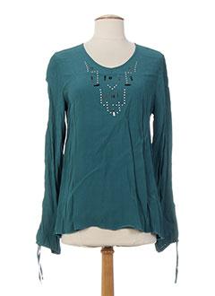 T-shirt manches longues bleu MADO ET LES AUTRES pour femme