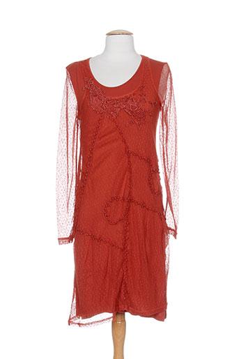 mado et les autres robes femme de couleur orange
