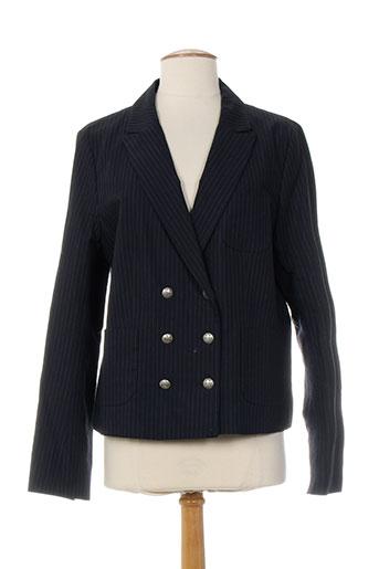 pablo gerard darel vestes femme de couleur bleu
