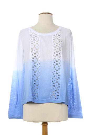 maloka pulls femme de couleur bleu