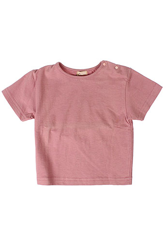 contre vents et marees t-shirts fille de couleur rose