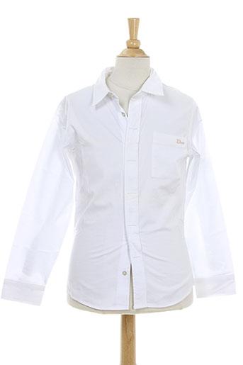 christian dior chemises fille de couleur blanc
