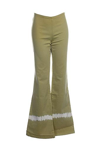 Pantalon chic vert CIMARRON pour fille
