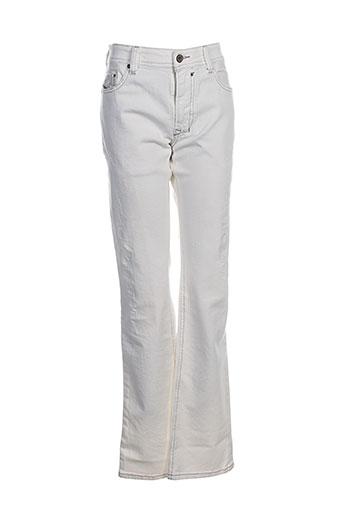 Pantalon casual blanc DIESEL pour fille