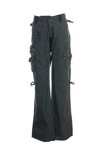 Pantalon casual gris REPLAY pour fille