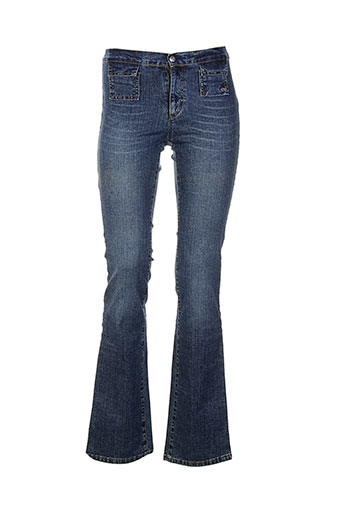 cimarron jeans et bootcut femme de couleur bleu