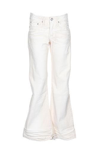 Pantalon casual blanc CIMARRON pour fille