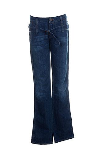diesel jeans fille de couleur bleu