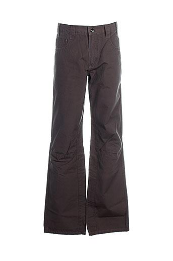 ddp pantalons garçon de couleur gris