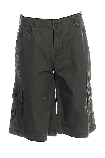corleone shorts / bermudas garçon de couleur vert