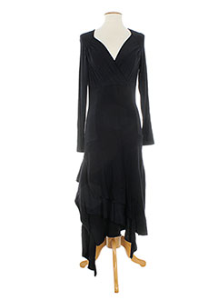 Robe longue noir ALDO MARTIN'S pour femme