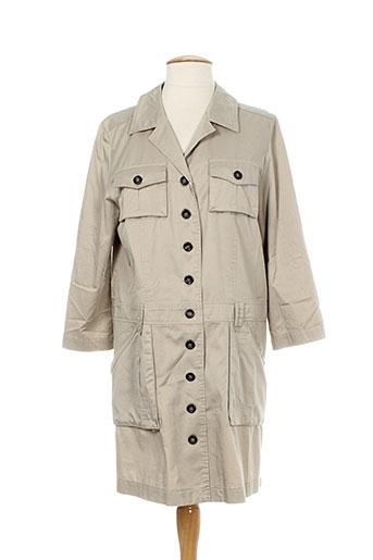pablo gerard darel vestes femme de couleur beige