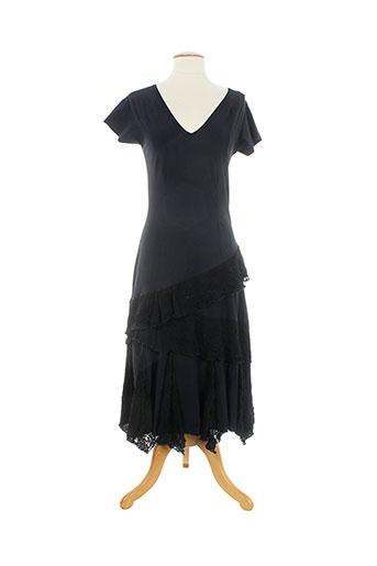 cassiopee robes femme de couleur noir