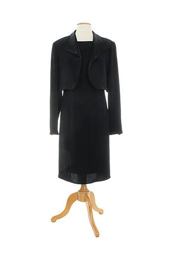 christie de la rue robes femme de couleur noir