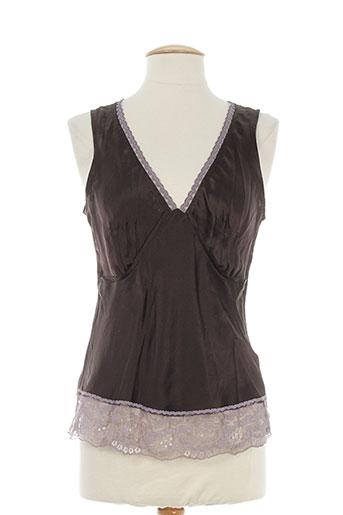 pablo gerard darel chemises femme de couleur marron