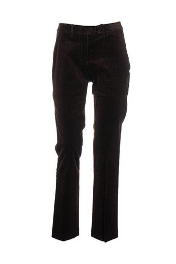 victoire pantalons et decontractes femme de couleur marron