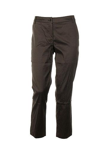 Pantalon chic marron DANIEL HECHTER pour femme