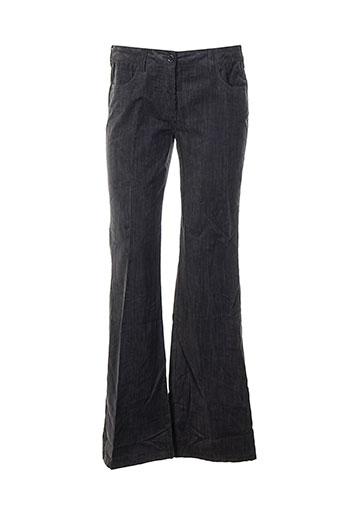 Pantalon casual gris DANIEL HECHTER pour femme