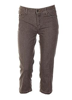 Pantalon casual gris ERNEST pour femme