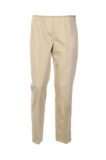 Pantalon chic beige DANIEL HECHTER pour femme