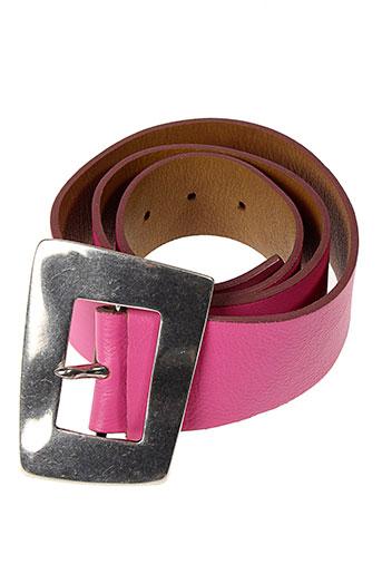 l et atelier et bower ceintures femme de couleur rose