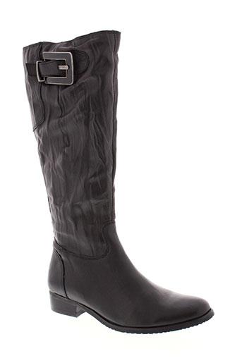 tamaris bottes femme de couleur noir