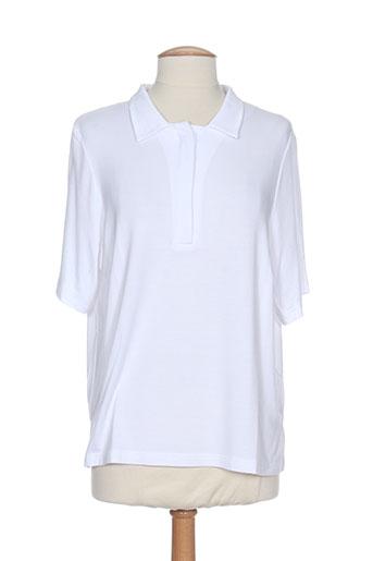 pier bé t et shirts et tops femme de couleur blanc