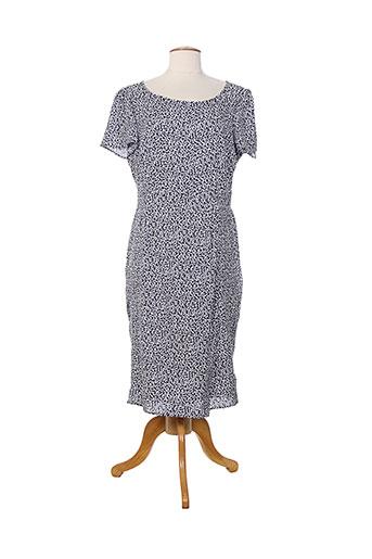 weinberg robes et longues femme de couleur bleu
