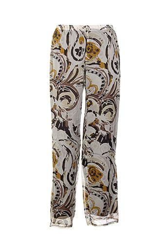 weinberg pantalons femme de couleur marron