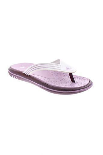adidas tongs fille de couleur violet