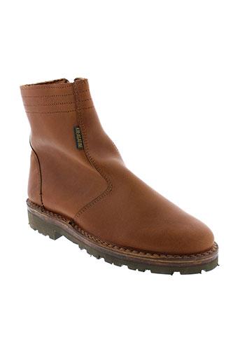 gatine boots homme de couleur marron