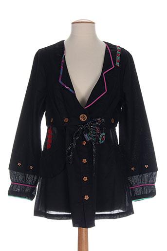 all et beautiful vestes femme de couleur noir