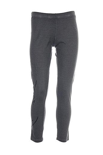 fred et sabatier leggings femme de couleur gris