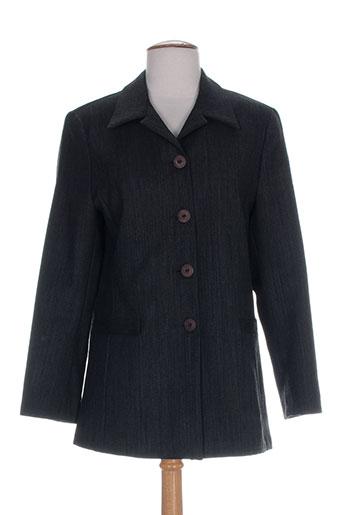 maryvet vestes femme de couleur gris