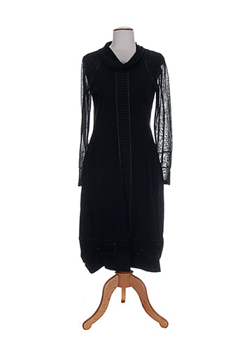 gd robes femme de couleur noir