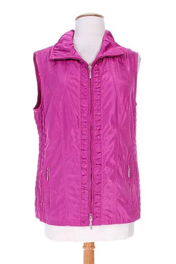 erfo vestes femme de couleur rose