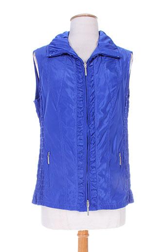 erfo vestes femme de couleur bleu