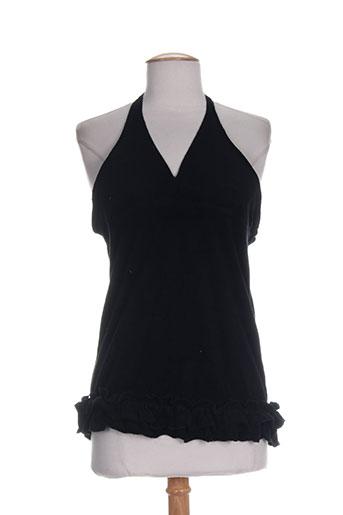 zoe la fee chemises femme de couleur noir